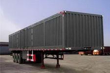 鸿天牛牌HTN9402XXY型厢式运输半挂车图片