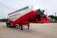 福田牌BJ9408GFL型低密度粉粒物料运输半挂车图片