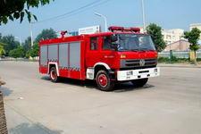 江特牌JDF5151GXFPM70/A型泡沫消防车