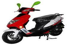 杰士达牌JSD50QT-6A型两轮轻便摩托车图片