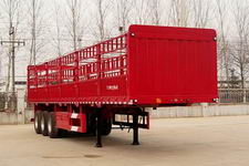 红岩牌CQZ9400CCY型仓栅式运输半挂车图片