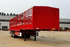 红岩牌CQZ9401CCY型仓栅式运输半挂车图片