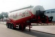 骏通9.6米31.5吨3轴中密度粉粒物料运输半挂车(JF9401GFL40)