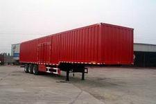 劲越14.6米31.2吨3轴厢式半挂车(LYD9402XXY)