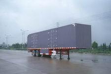 扬子牌YZK9320XXY型厢式运输半挂车图片