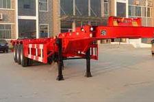 斯派菲勒牌GJC9401TJZ型集装箱运输半挂车