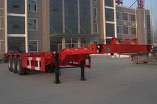 斯派菲勒牌GJC9400TJZ型集装箱运输半挂车