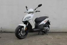 比亚乔牌BYQ50QT-5F型两轮轻便摩托车图片