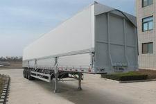 丛林牌LCL9401XYK型铝合金翼开启厢式半挂车图片