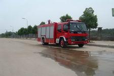 江特牌JDF5152GXFPM60/A型泡沫消防车