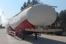 雨辰13米28吨3轴低密度粉粒物料运输半挂车(SCD9404GFL)