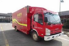 天河牌LLX5084XXFXC10/L型宣传消防车图片