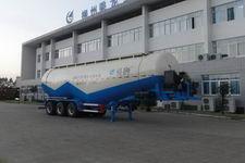 福狮11米29.7吨3轴下灰半挂车(LFS9406GXH55)
