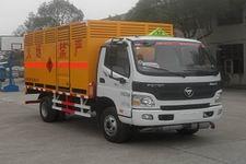 同心牌TX5120XRQ4FT型易燃气体厢式运输车