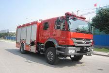 中卓时代牌ZXF5150XXFQC200型器材消防车