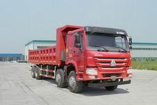 豪沃前四后八甲醇/柴油双燃料自卸车国四310马力(ZZ3317N4667D1M)