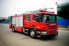 中卓时代牌ZXF5130TXFJY100S型抢险救援消防车