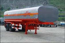 陆氏牌LSX9340GHY型化工液体运输半挂车