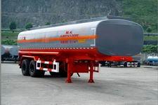 陆氏牌LSX9252GHY型化工液体运输半挂车