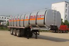 神狐11米32吨3轴易燃液体罐式运输半挂车(HLQ9403GRY)