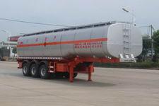 神狐10.5米32吨3轴易燃液体罐式运输半挂车(HLQ9401GRY)