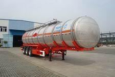 安通牌CHG9409GRY型铝合金易燃液体罐式运输半挂车