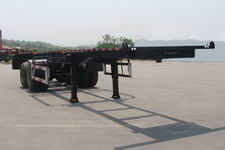 普诚7.2米31吨2轴危险品罐箱骨架运输半挂车(PC9350TWY)