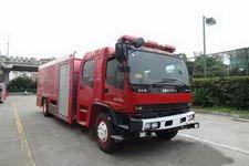 银河牌BX5140TXFGQ80/W4型供气消防车图片
