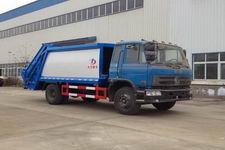 东风平头压缩垃圾车DLQ5160ZYSZ4(新款驾驶室)