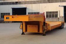 粱锋牌LYL9401TDP型低平板半挂车图片