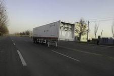 宝环12.4米3.2吨2轴高压气体长管半挂车(HDS9340GGQ)