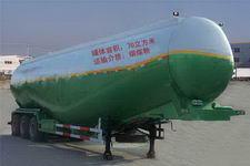 鲁泉牌JZQ9401GFL型低密度粉粒物料运输半挂车图片