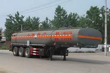 程力威牌CLW9408GRY型易燃液体罐式运输半挂车