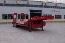 粱锋12.5米30吨3轴低平板半挂车(LYL9400TDP)
