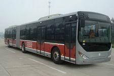 中通牌LCK6180HQGNA型铰接式城市客车图片