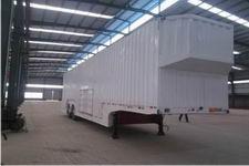 华鲁业兴14.2米8.7吨2轴车辆运输半挂车(HYX9200TCL)