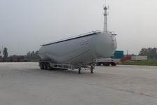 华鲁业兴13米27.9吨3轴低密度粉粒物料运输半挂车(HYX9401GFLD)