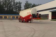 华鲁业兴11.1米31.1吨3轴低密度粉粒物料运输半挂车(HYX9400GFL)