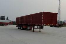 华鲁业兴13.5米31.5吨3轴厢式运输半挂车(HYX9402XXY)