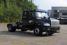 解放牌CA4142N2E5A95型天然气半挂牵引汽车图片