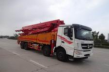 北奔前四后八65米水泥输送泵车