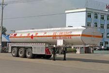 程力威11米32.6吨3轴化工液体运输半挂车(CLW9404GHY)