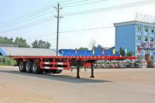 程力威牌CLW9400P型平板运输半挂车