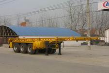 程力威牌CLW9401TJZG型集装箱运输半挂车