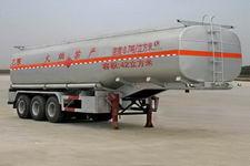 程力威11米28噸3軸易燃液體罐式運輸半掛車(CLW9403GRY)