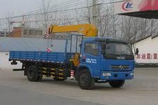 程力威牌CLW5090JSQ4型随车起重运输车