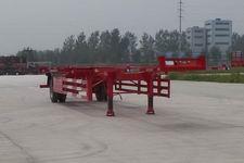 华鲁业兴12.5米12.3吨1轴空载集装箱运输半挂车(HYX9150TJZ)
