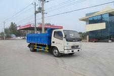 程力威牌CLW5070XTY4型密闭式桶装垃圾车