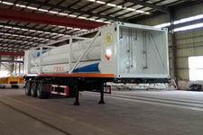 盛润12.4米3.9吨3轴液压子站高压气体长管半挂车(SKW9403GGY)