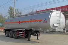 程力威10.5米29.2吨3轴易燃液体罐式运输半挂车(CLW9405GRYA)